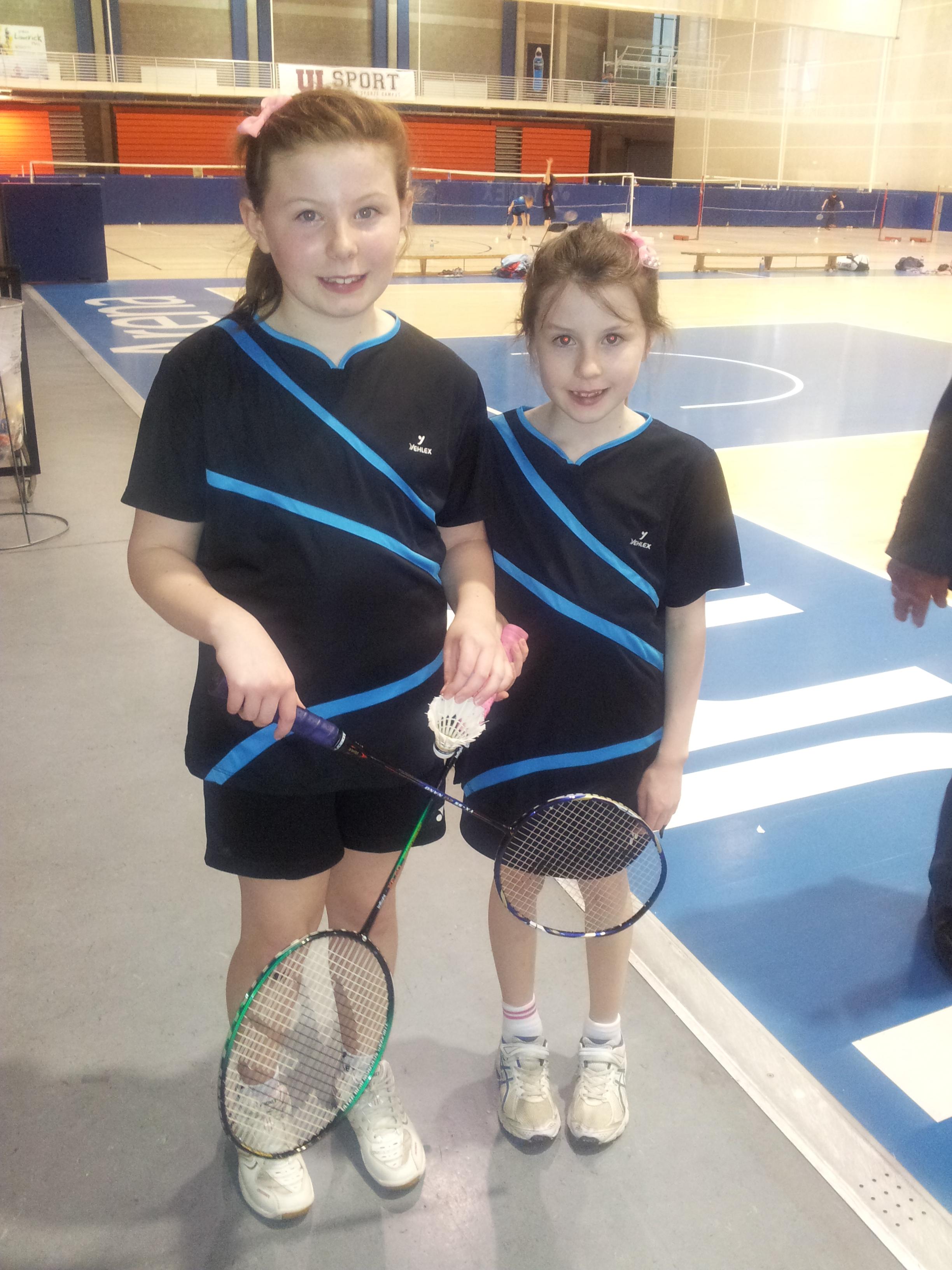 Zoe and Eva O'Herlihy at Munster Close