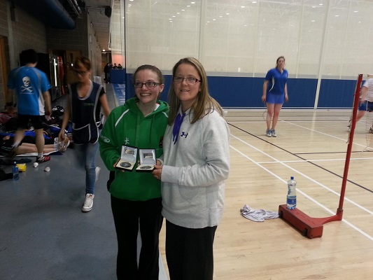 Carrigaline players win in Division 2 Munster Doubles and Mixed Doubles
