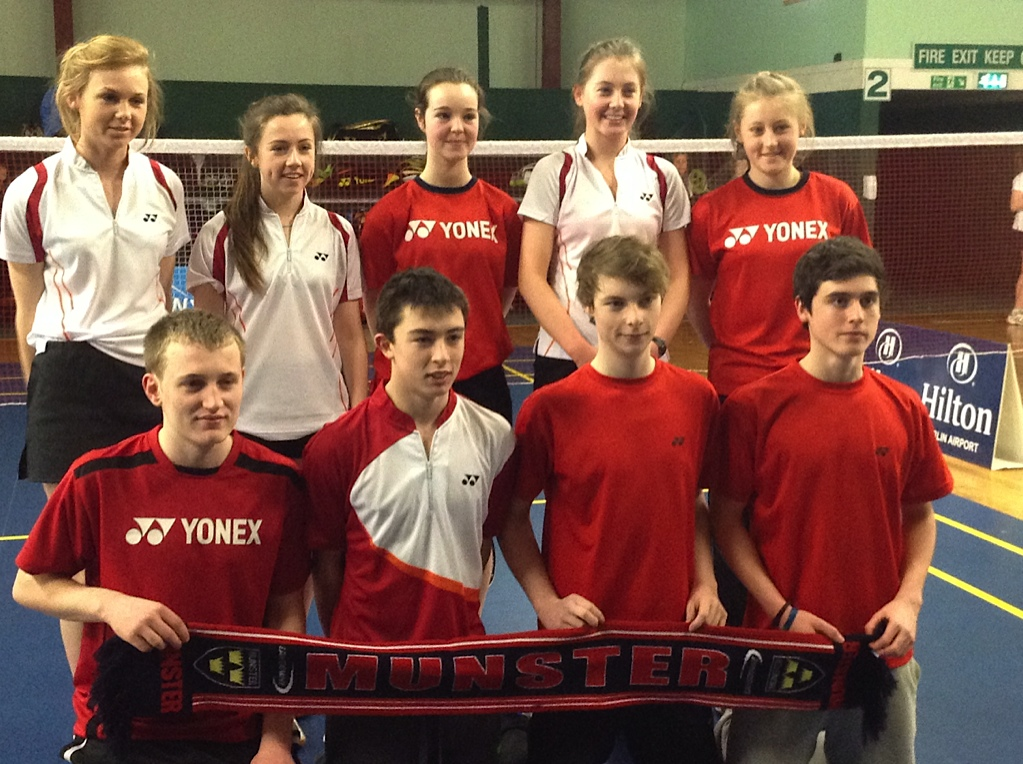 U17 Munster Team including Andrew Dunlae and Caoimhe Coghlan