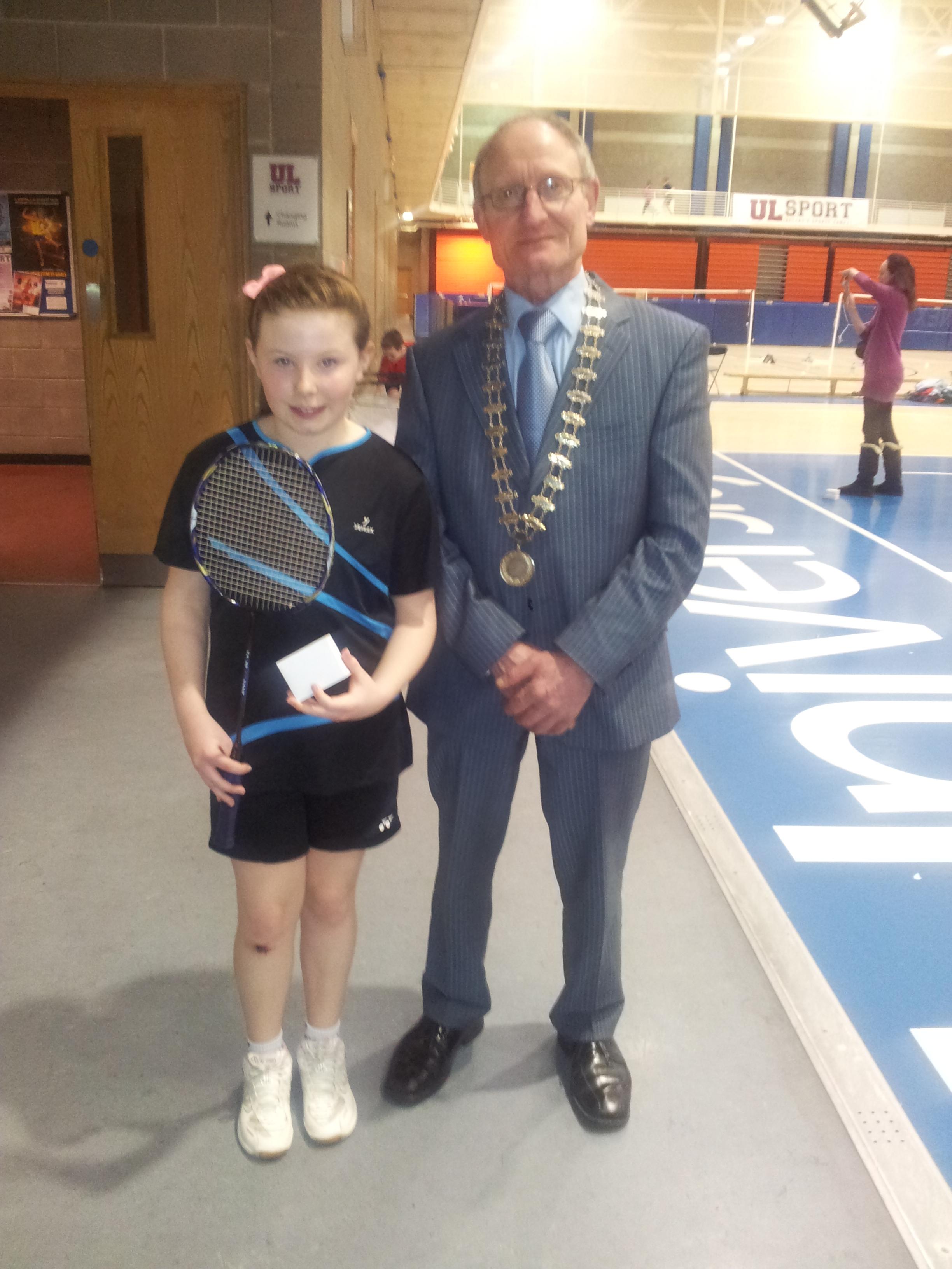 Zoe OHerlihy U11 Munster Champion 2014