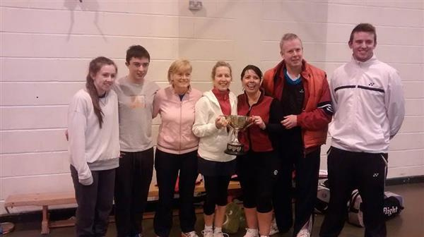 Carrigaline Badminton Club Winners!
