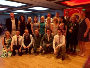 CCBA annual awards night held in the Oriel Park Hotel.
